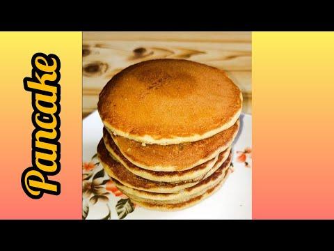 Pancake, Pancake Recipe, Easy Pancake Recipe, Pure Food Panc