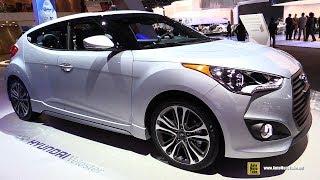 2017 Hyundai Veloster Turbo Exterior and Interior Walkaround 2017 Detroit Auto Show