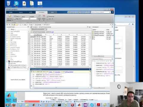 Historical data forex for mathlab