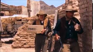 "Rio Bravo: Stumpy to the rescue: ""Hey dude...How do ya like them apples?"""