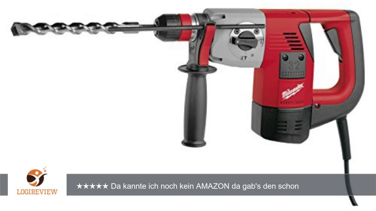 milwaukee 4933400069 plh 32 ex bohrhammer erfahrungsbericht review test youtube. Black Bedroom Furniture Sets. Home Design Ideas