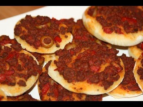 recette-mini-pizzas-à-la-viande-hachée---recettes-maroc