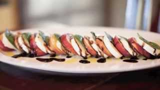 Peach Caprese Salad Recipe: How To Make It In 60 Seconds