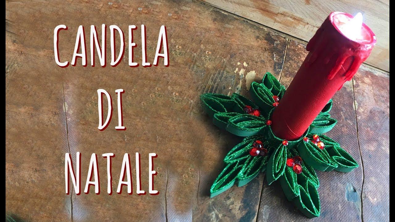 Lavoretti Di Natale Con Le Candele.Candela Di Natale Con Rotoli Di Scottex Ricilo Creativo Natale Arte Per Te