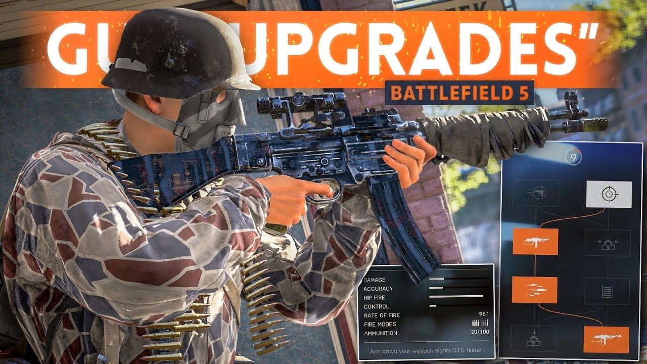 "DICE IS FIXING WEAPON ""UPGRADES"" & PROGRESSION! - Battlefield 5 (Launch Development Update)"