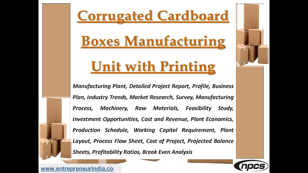 Corrugated Cardboard Boxes Manufacturing Unit with Printing  sc 1 st  YouTube & Corrugated Cardboard Boxes Manufacturing Unit with Printing - YouTube Aboutintivar.Com