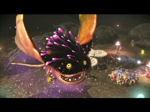 Pikmin 3 Boss Battle (Vehemoth Phosbat) Nintendo Wii U/NX? Frezhor ...