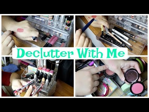 Declutter my vanity with me | part 1