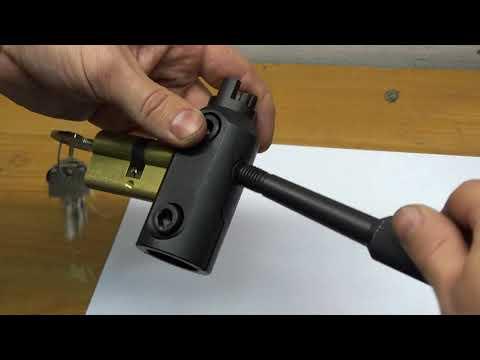 Вытягивание цилиндра --   инструмент для открытия замков