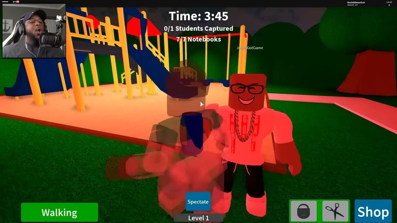 2 Player Baldi S Schoolhouse Escape In Roblox