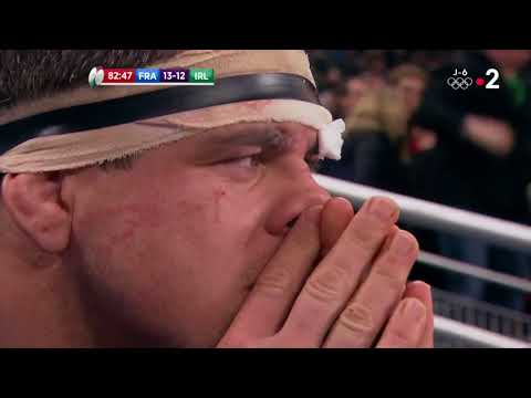 Michael Corcoran commentary Jonathan Sexton drop goal v France Feb 3 2018
