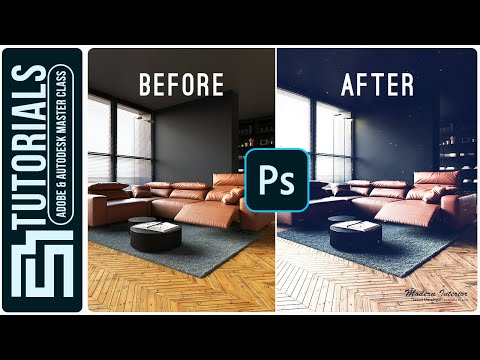 Interior POST PRODUCTION + VRAY Render Elements