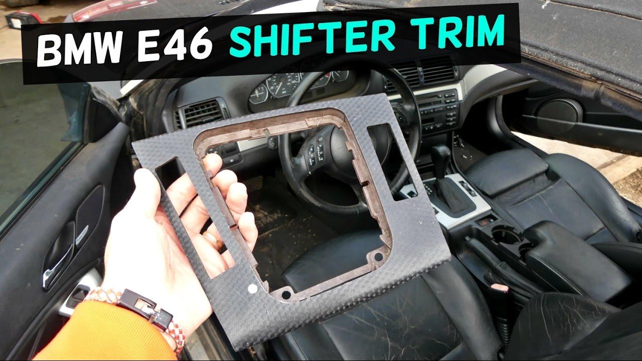 bmw e46 coupe - interior trim removal and install