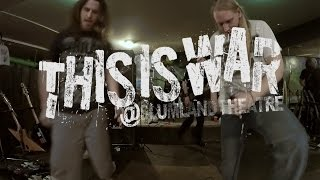 Instinct - This Is War (Live @ Slumland Theatre, Red Deer)