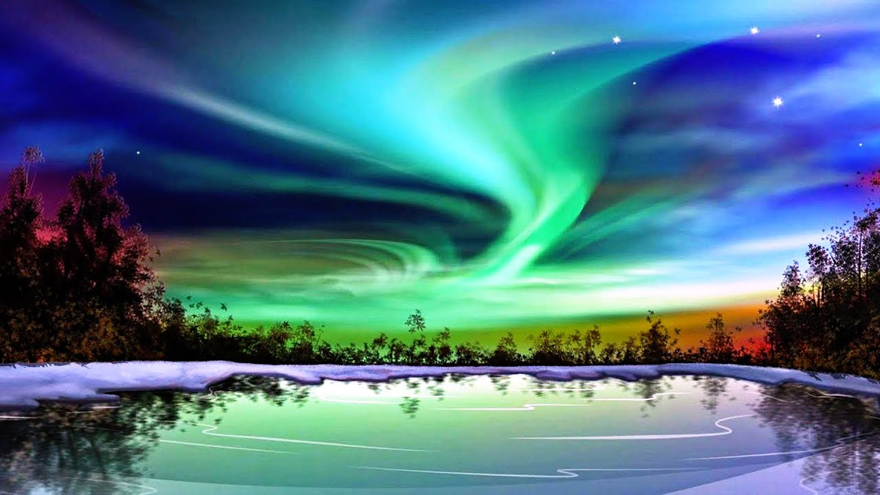 what causes the northern lights youtube. Black Bedroom Furniture Sets. Home Design Ideas