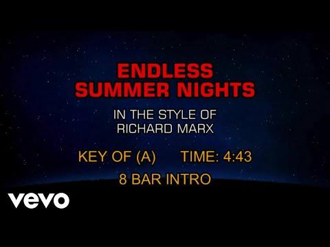 Richard Marx - Endless Summer Nights (Karaoke)