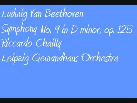 Ludwig Van Beethoven Riccardo Chailly Symphony no  9 in D minor