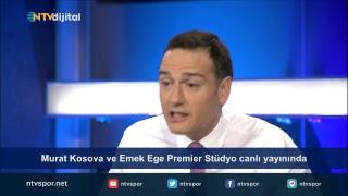 Murat Kosova ve Emek Ege Premier Stüdyo canlı yayınında