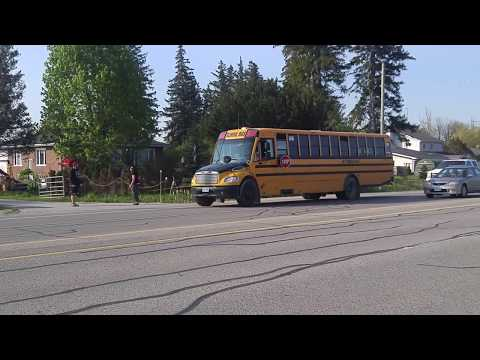 May 25th 8:30am Police catch school bus stop violator