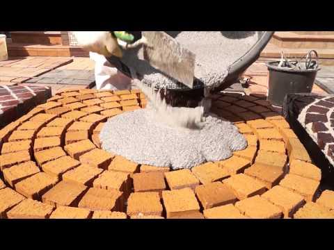 Раствор PFL для заполнения швов: брусчатка, натуральный камень и клинкерный кирпич (Quick-Mix)