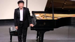 Chopin Impromptu No. 2, Op. 36 and Waltz, Op. 42. GEORGE LI