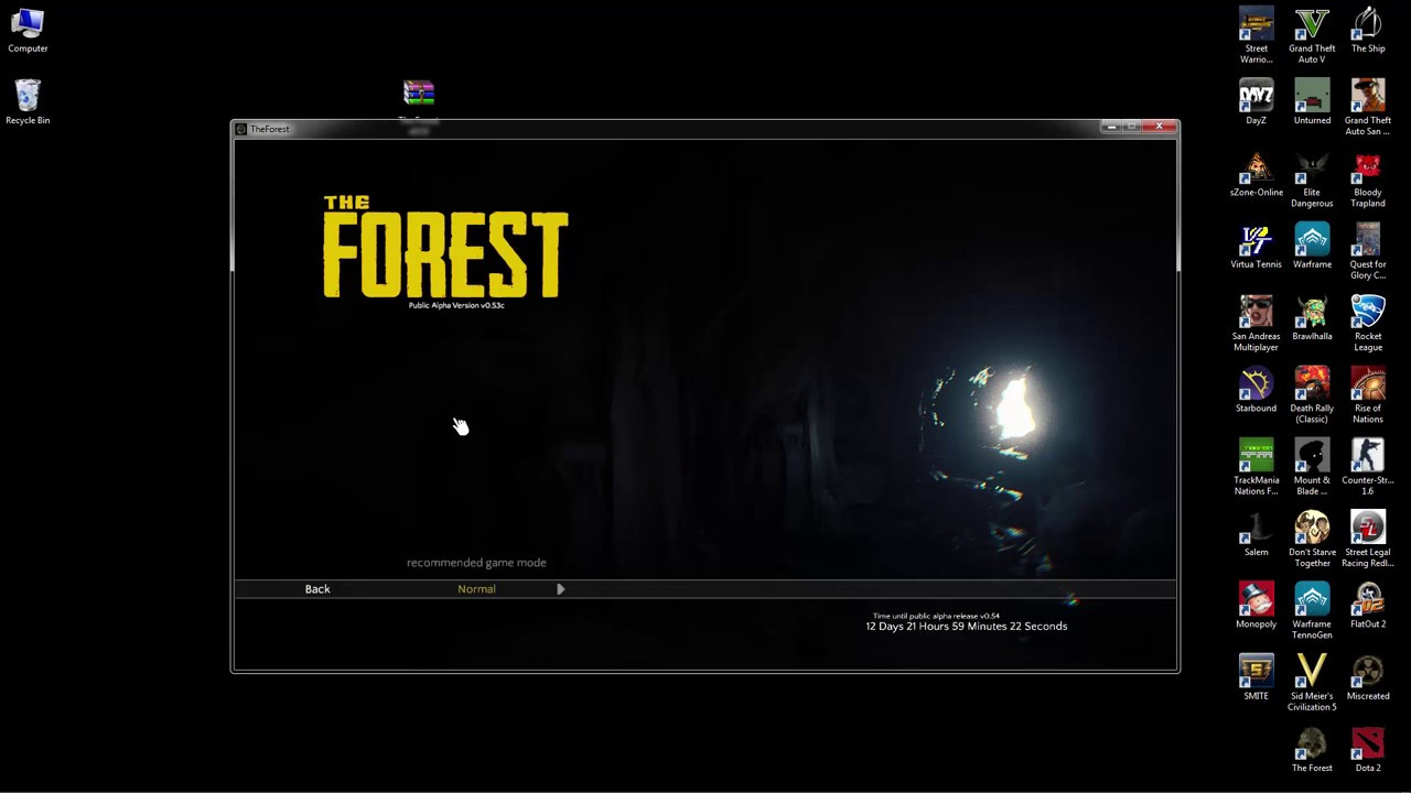 The Forest V1 08 - Multiplayer Work - Free download 2018