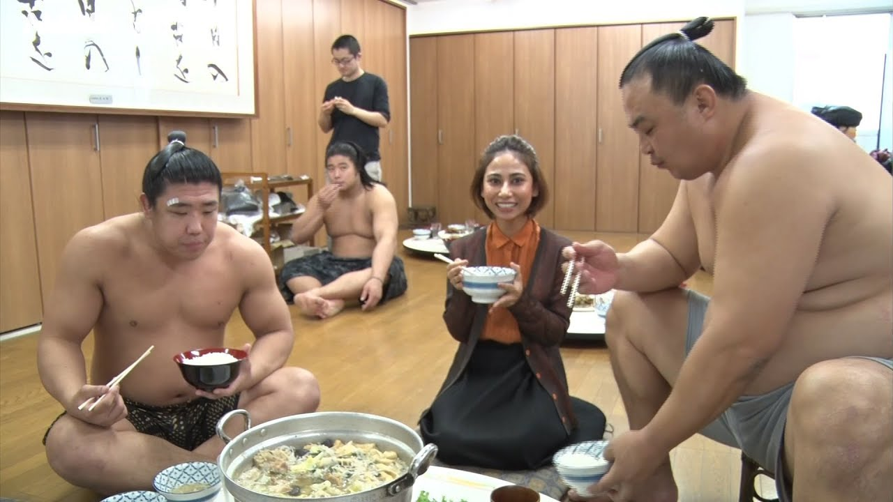 Photo of Dining with Sumo Wrestlers – GRAND SUMO SECRETS – video