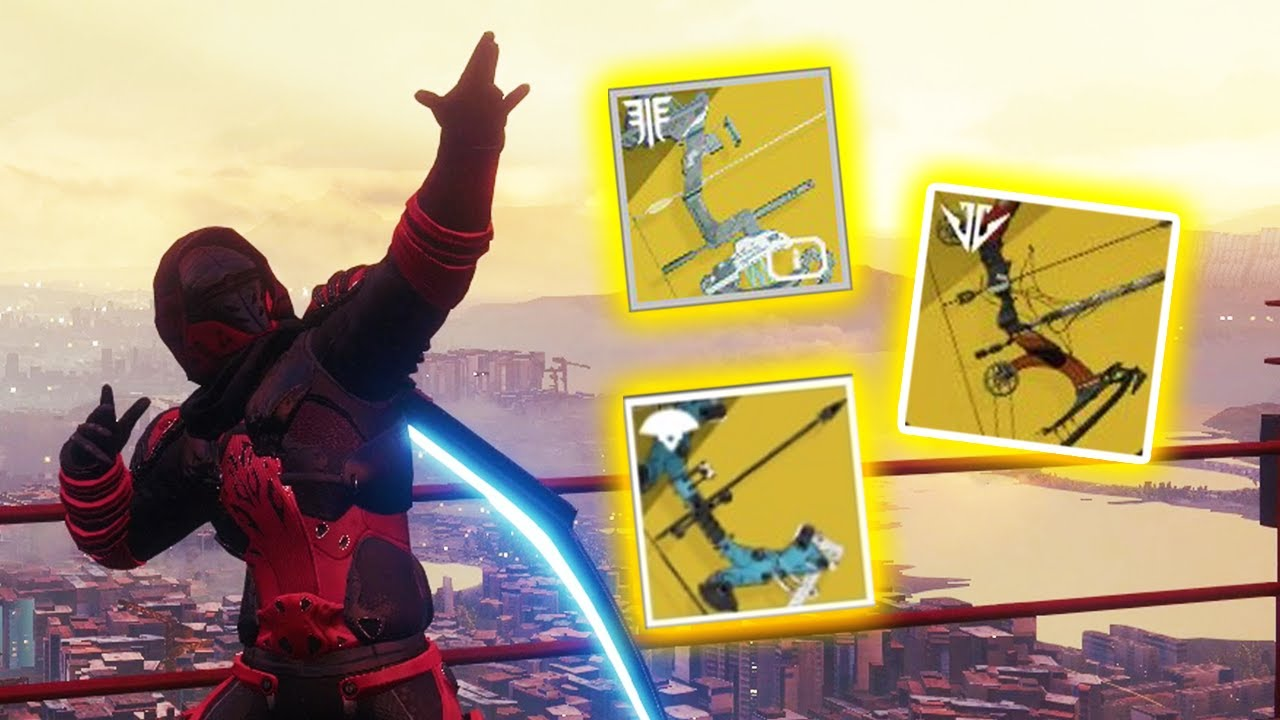 Why are bows are the best weapon type? - Destiny 2