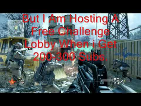 FREE CHALLENGE LOBBY FOR MW2!!!!