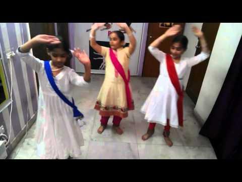 Kathak dance in teen taal