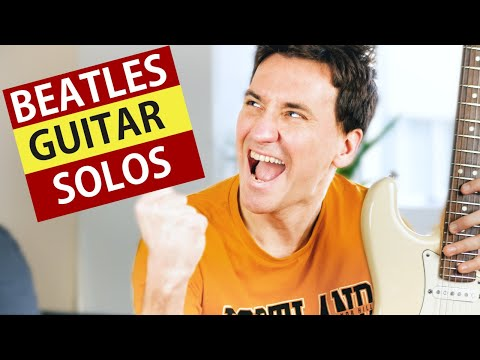TOP 10 BEATLES GUITAR SOLOS