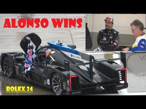 Fernando Alonso Wins 2019 IMSA Rolex 24 Hours of Daytona