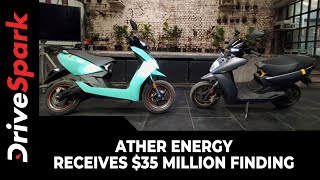 Ather Energy Receives $35 Million Funding | New Investments From Sachin Bansal & Hero MotoCorp