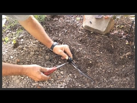Landscape Lighting Splice Into Landscape Cable Youtube