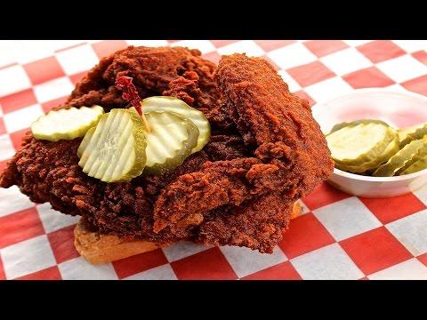 EXTREMELY SPICY Nashville Hot Chicken Challenge!