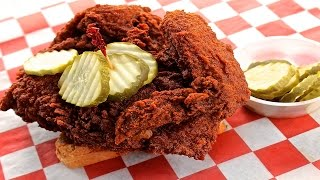 EXTREMELY SPICY Nashville Hot Chicken Challenge!
