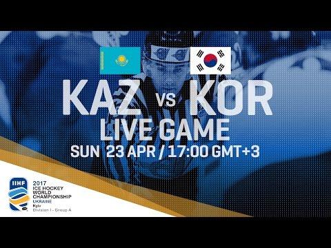 Kazakhstan - Korea | Full Game | 2017 IIHF Ice Hockey World Championship Division I Group A