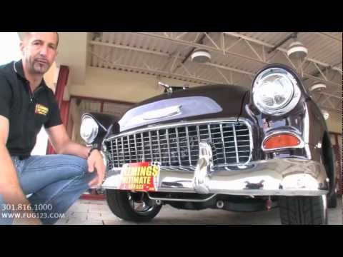 640hp! 1955 Chevrolet Bel Air Pro Touring for sale with test drive, walk through video