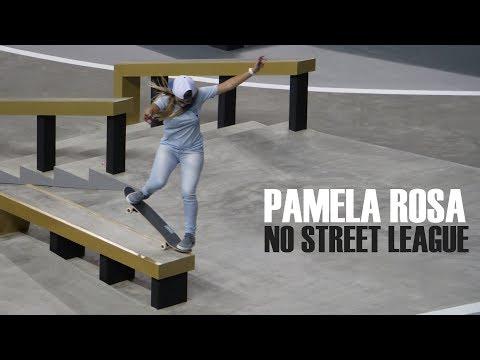 Pamela Rosa no Street League Super Crown