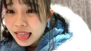 프로듀스48에 출연했던 무라카와 비비안(村川 緋杏)의 2019년 2월 13일...