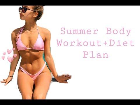 2 week summer body workout + diet plan