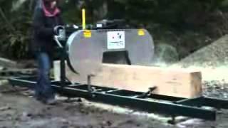 Versatile Bandsaw Mill - Backyard Portable Bandsaw Mills