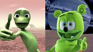 Cover images Dame Tu Cosita Challenge Dame La Gomita MASHUP Gummibär The Gummy Bear Song