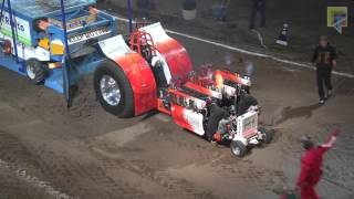 modifieds tractors with 7000 hp tractorpulling european superpull ahoy 2016