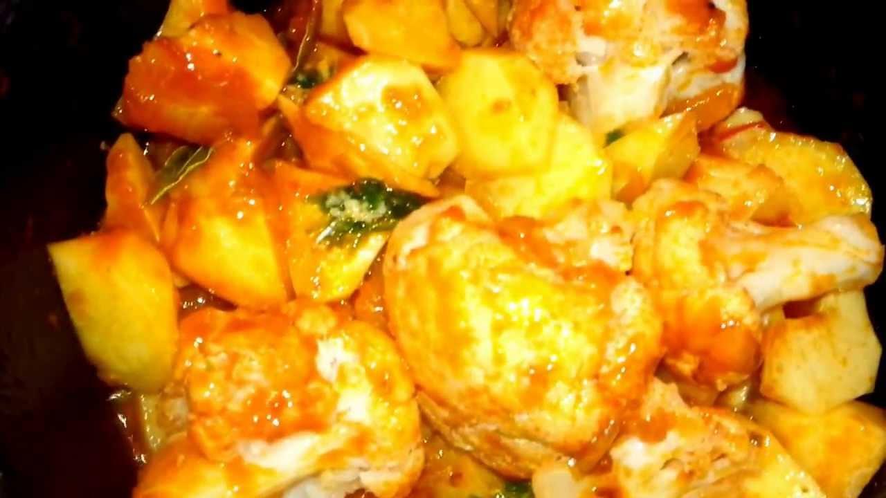 Patatas guisadas con bacalao y coliflor youtube - Bacalao con garbanzos y patatas ...