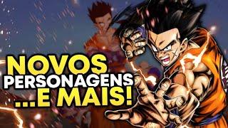 PERSONAGENS GRÁTIS! TUDO SOBRE A NOVA ATUALIZAÇÃO (Dragon Ball legends)