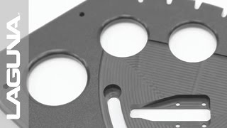 Cnc - Laguna Tools - Smartshop Ii Cnc Router Cuts Marine Quality Plastic Starboard Demo