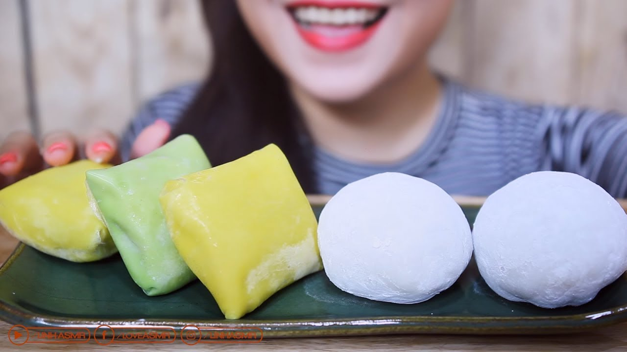 Asmr Durian Mochi And Durian Crepe Sticky Eating Sounds No Talking Linh Asmr Youtube Fun fact :the most indonesian people love durian. asmr durian mochi and durian crepe sticky eating sounds no talking linh asmr