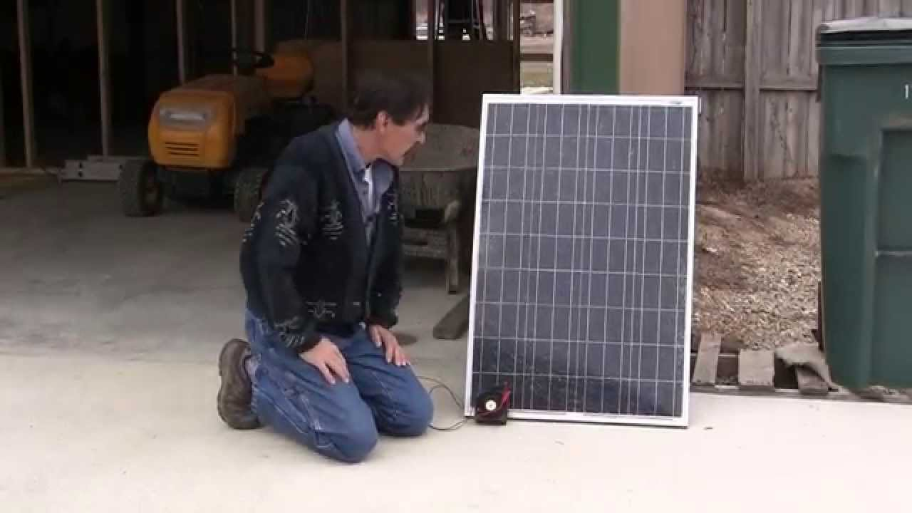 Solar Panel Broken And Blocking Diodes How To Fix Repair Missouri Wind And Solar Youtube