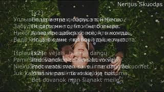 [lyrics] Андрей Леницкий - Подари мне любовь (2017) [LIETUVIŠKAI]